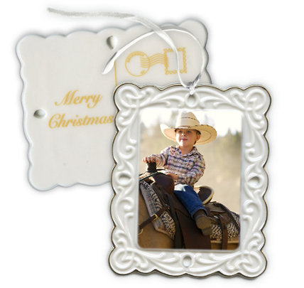 Design Your Own - 1 Photo Spot Post Card Ornament Vertical