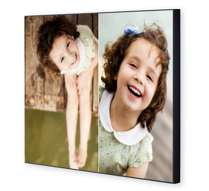 Design Your Own - 2 Photo Spots Photo Panel 20
