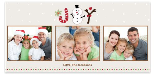 Joy Icons Holiday Photo Cards