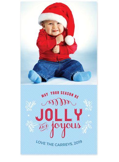 Jolly & Joyous Holiday Photo Cards
