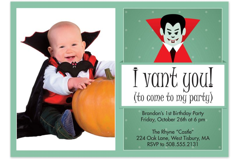 I vant you halloween party invitations cherishables i vant you halloween party invitations filmwisefo