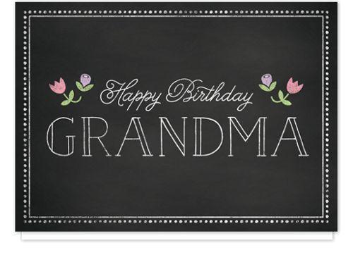 Birthday Grandma Birthday Cards