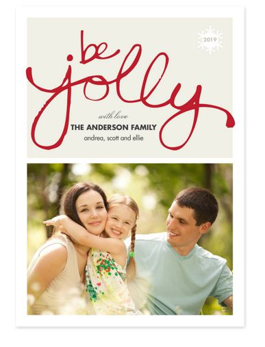 Jolly Photo Christmas Cards