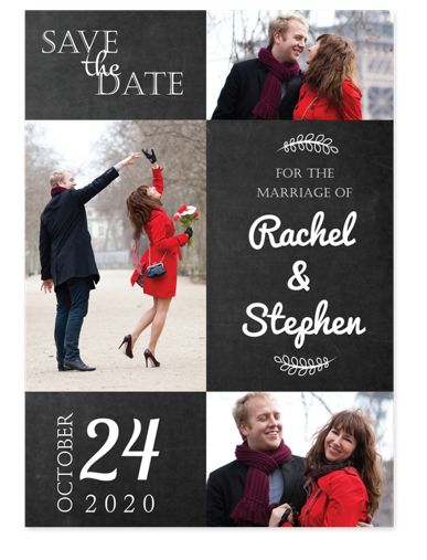 Blissful Save the Date Cards