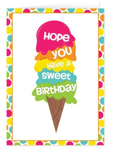 Sweet Birthday Birthday Cards