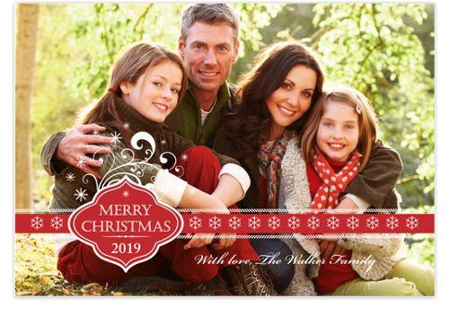 Christmas Magic Christmas Photo Cards