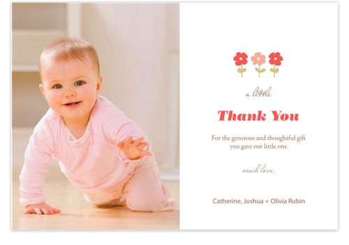 A Little Thank You Photo Cards