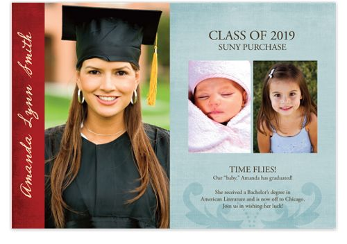 Good for You Graduation Announcement Cards