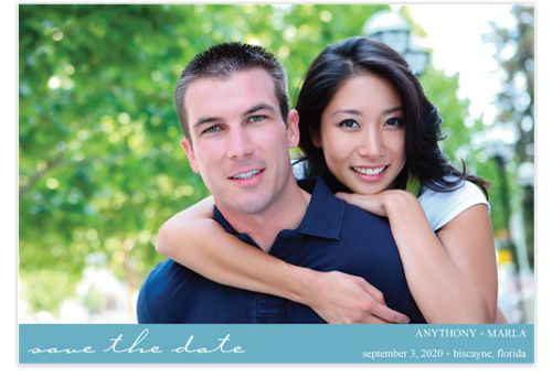Love Me Tender Save the Date Cards