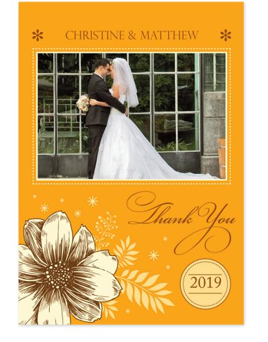 True Love Wedding Thank You Cards