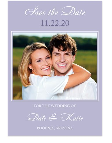 It's Only Love Save the Date Cards