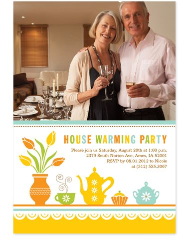 Gathering Adult Party Invitations