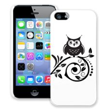 Scrollwork Owl iPhone 5/5s ColorStrong Slim-Pro Case