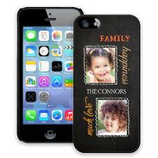 Family Portrait Duo iPhone 5/5s ColorStrong Slim-Pro Case