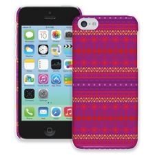 Purple Tribal iPhone 5c ColorStrong Slim-Pro Case