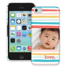 Wavy Stripes iPhone 5c ColorStrong Slim-Pro Case