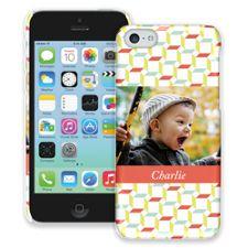 Retro Blocks iPhone 5c ColorStrong Slim-Pro Case