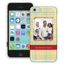 Retro Plaid iPhone 5c ColorStrong Slim-Pro Case
