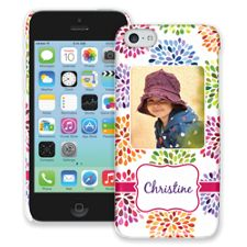 Chrysanthemum Fireworks iPhone 5c ColorStrong Slim-Pro Case