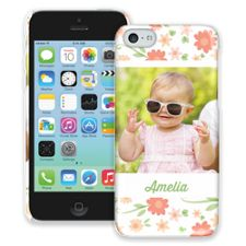 Sweet Floral iPhone 5c ColorStrong Slim-Pro Case