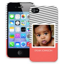 Skinny Stripes iPhone 4/4s ColorStrong Slim-Pro Case
