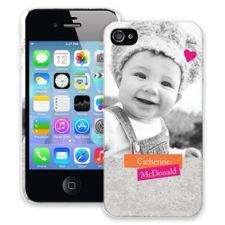 Sticker Art iPhone 4/4s ColorStrong Slim-Pro Case