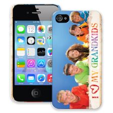 Grandkids and Crayons iPhone 4/4s ColorStrong Slim-Pro Case
