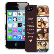 Chocolate Live Laugh Love iPhone 4/4s ColorStrong Slim-Pro Case