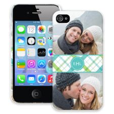 Spring Plaid iPhone 4/4s ColorStrong Slim-Pro Case