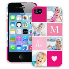 Strawberry Squares iPhone 4/4s ColorStrong Slim-Pro Case