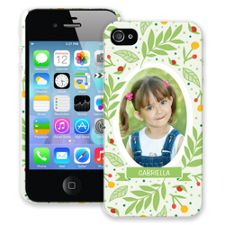 Leaves & Berries iPhone 4/4s ColorStrong Slim-Pro Case