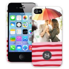 Raspberry Waves iPhone 4/4s ColorStrong Slim-Pro Case
