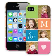 ColorBlocks iPhone 4/4s ColorStrong Slim-Pro Case