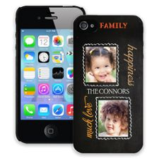 Family Portrait Duo iPhone 4/4s ColorStrong Slim-Pro Case