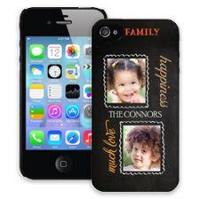 Family Portrait Duo iPhone 4/4s ColorStrong Slim-Pro Case