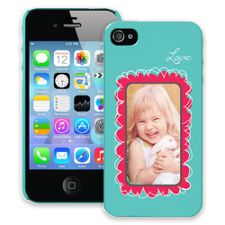 Love Scribbles iPhone 4/4s ColorStrong Slim-Pro Case