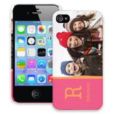 Rainbow Sherbet iPhone 4/4s ColorStrong Slim-Pro Case