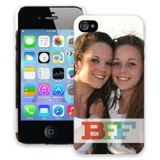 BFF Banner iPhone 4/4s ColorStrong Slim-Pro Case