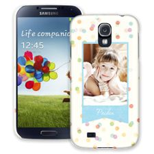 Paper Dots Samsung Galaxy S4 ColorStrong Slim-Pro Case