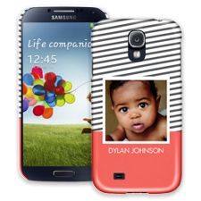 Skinny Stripes Samsung Galaxy S4 ColorStrong Slim-Pro Case