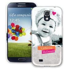 Sticker Art Samsung Galaxy S4 ColorStrong Slim-Pro Case