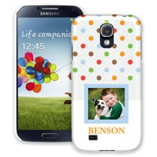 Rainbow Sprinkles Samsung Galaxy S4 ColorStrong Slim-Pro Case