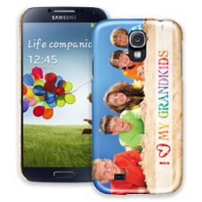 Grandkids and Crayons Samsung Galaxy S4 ColorStrong Slim-Pro Case