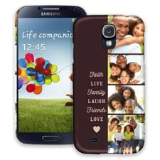 Chocolate Live Laugh Love Samsung Galaxy S4 ColorStrong Slim-Pro Case