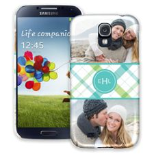 Spring Plaid Samsung Galaxy S4 ColorStrong Slim-Pro Case
