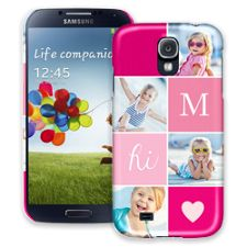 Strawberry Squares Samsung Galaxy S4 ColorStrong Slim-Pro Case