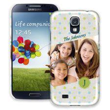 Polka Dot Muslin Samsung Galaxy S4 ColorStrong Slim-Pro Case