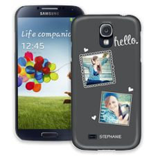 Chalk Portraits Duo Samsung Galaxy S4 ColorStrong Slim-Pro Case