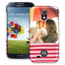 Raspberry Waves Samsung Galaxy S4 ColorStrong Slim-Pro Case