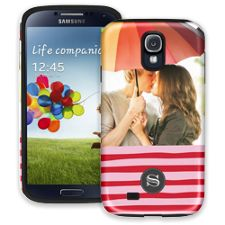 Raspberry Waves Samsung Galaxy S4 ColorStrong Cush-Pro Case